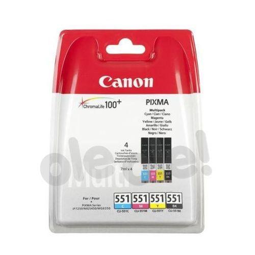 Canon  cli-551 c/m/y/bk - produkt w magazynie - szybka wysyłka! (8714574584416)