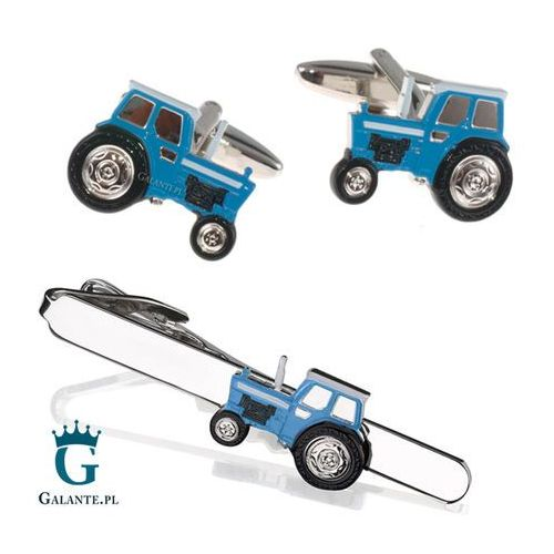 Komplet biżuterii niebieski traktor sdk-1296 marki Galante