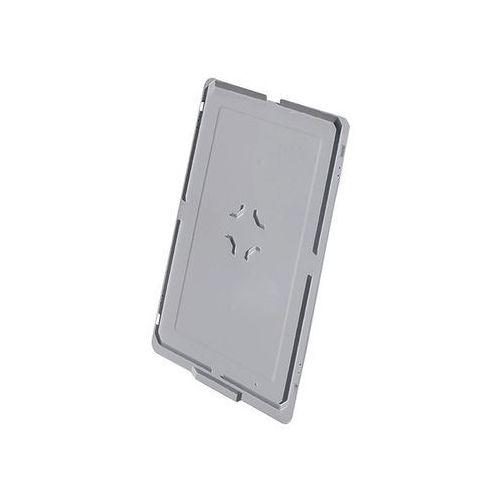 Pokrywa do pojemnika z tworzywa do ustawiania w stos, do dł. x szer. 600x400 mm,