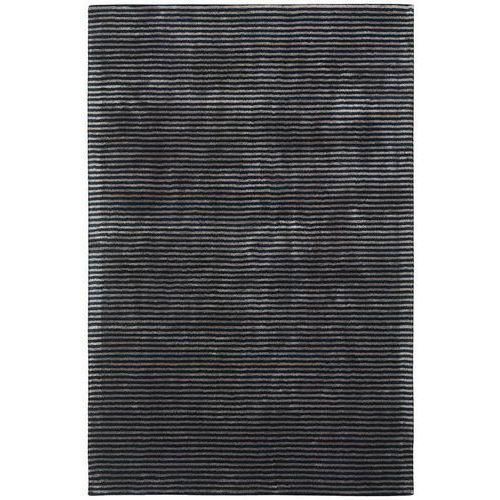 Dywan katherine carnaby chrome stripe nero 200x300 marki Arte