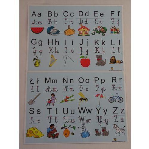Alfabet cz.1 i cz.2 - plansza demonstracyjna