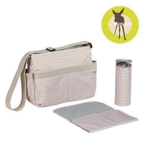 Lassig marv torba z akcesoriami shoulder bag mesh beige