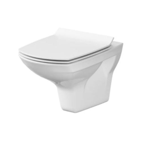 Cersanit miska wc wisząca carina + deska slim duroplast wolnoopadająca k31-002.k98-0135