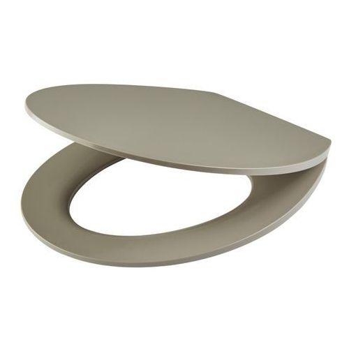 Cooke&lewis Deska wc changi z duroplastu wolnoopadająca taupe