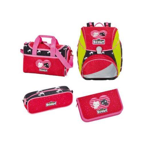 Scout alpha plecak z akcesoriami szkolnymi - lovely cat (4007953392318)