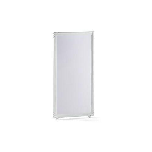 Clipper system srl Ścianka działowa, szkło akrylowe, przezroczyste, 650x1300 mm. do indywidualnych