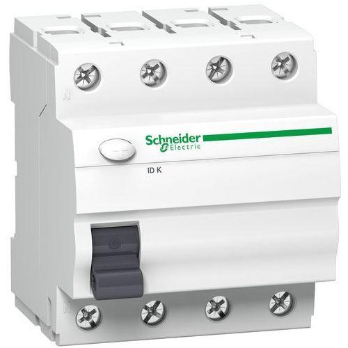 Wyłącznik różnicowoprądowy 40A 3-fazowy, różnicówka ACTI9 Schneider Electrics (3606480473913)