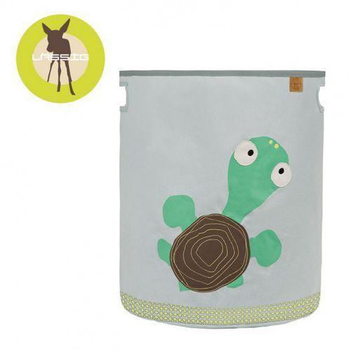 pojemnik kosz na zabawki wildlife żółw marki Lassig