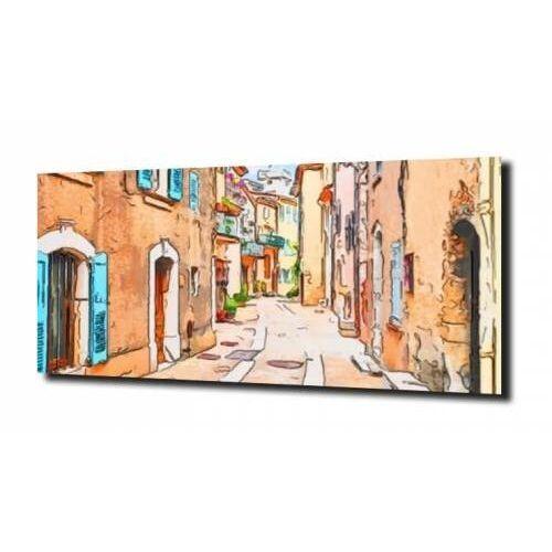 obraz na szkle Fracuskie miasteczko 100X80, F776