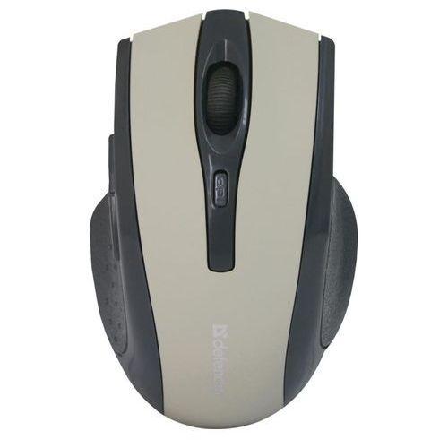 Mysz bezprzewodowa accura mm-665 optyczna 1600dpi 6p szara marki Defender