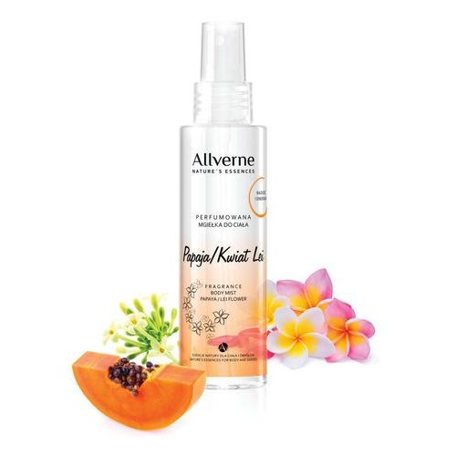 nature's essences mgiełka do ciała perfumowana papaja & kwiat lei 125ml marki Allverne
