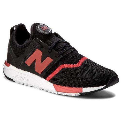 Sneakersy NEW BALANCE - MRL247GR Czarny, kolor czarny