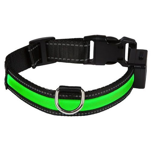 Obroża LED Eyenimal, zielona - Obwód szyi: 44-56 cm (3700192306054)
