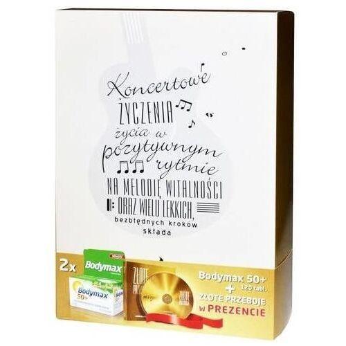 Bodymax 50+ x 60 tabletek x 2 opakowania + Płyta Złote przeboje - Gratis!