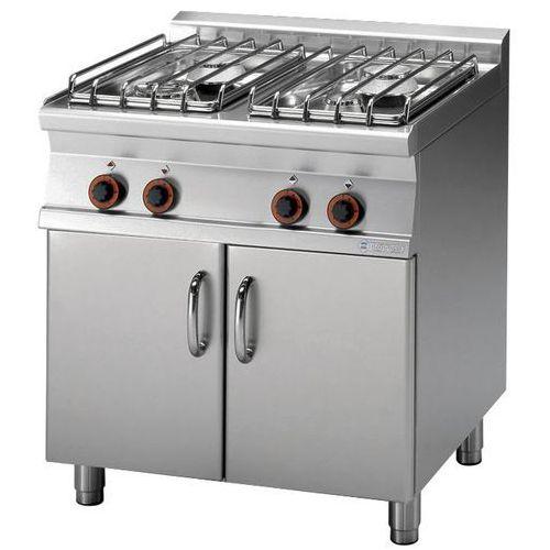 Rm gastro Kuchnia gazowa 4 palnikowa z szafką   22000w