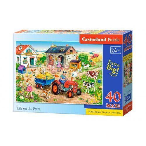 Castor 40 elementów maxi życie na farmie
