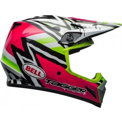 BELL KASK OFF-ROAD MX-9 MIPS TAGGER ASY PINK/GREEN