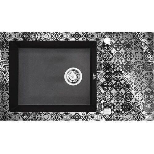 Deante Zlewozmywak capella zscgp2c grafitowy metalik (krawędź diament) (5908212061978)