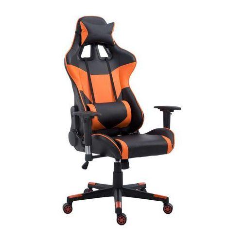 Fotel gamingowy racer pro pomarańczowy marki Ehokery.pl
