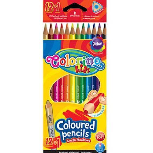 Kredki patio colorino kids trójkątne 12 kol x1 marki Kredki ołówkowe