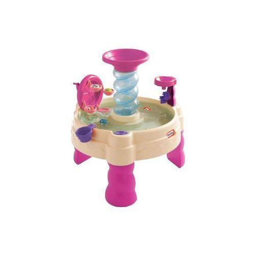 Little tikes Wodny stół spiralny różowy