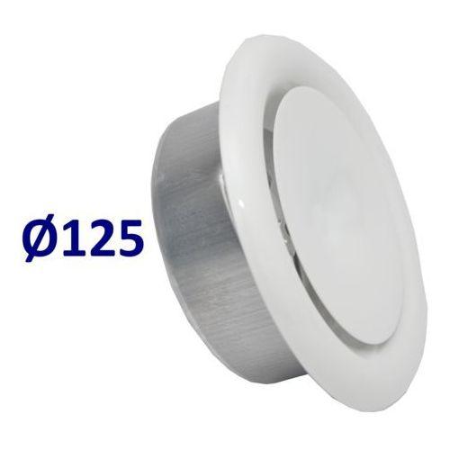 Mmt Anemostat nawiewny średnice od 100 do 200 zawór do wentylacji wszystkie średnice średnica [mm]: 125