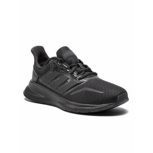 buty runfalcon k f36549 czarny, Adidas