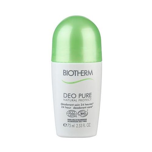 Biotherm - deo pure natural protect antyperspirant w kulce dro 75 ml dla pań