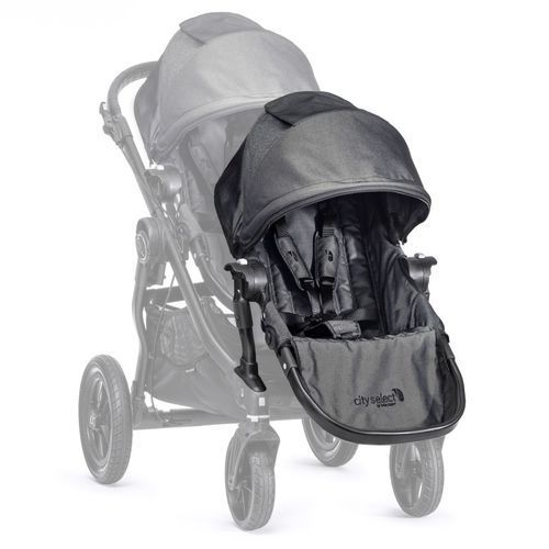 Baby jogger Dodatkowe siedzisko do wózka city select charcoal + darmowy transport!