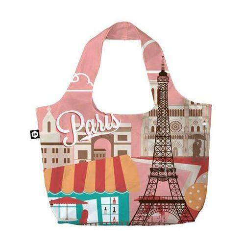 Bg berlin eco bags eco torba na zakupy 3w1 - paris