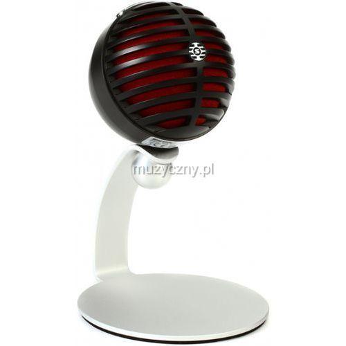 Shure Motiv MV5 Black mikrofon pojemnościowy USB/Lightning (czarny)