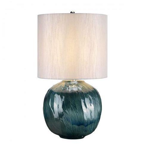 Blue Globe Nocna Elstead BLUE GLOBE/TL 55cm ceramika-morski-srebrny