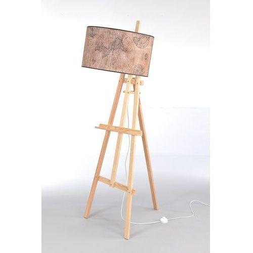 Namat Lampa podłogowa sztaluga light wood nr 2473