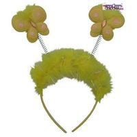 Opaska motylek żółta do zabawy dla dzieci marki Aster