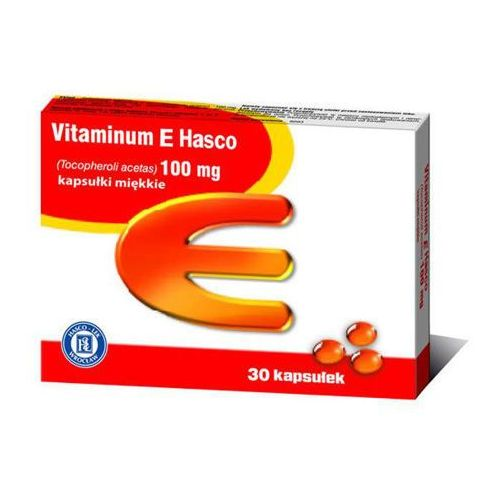 Vitaminum E 100mg x 30 kapsułek