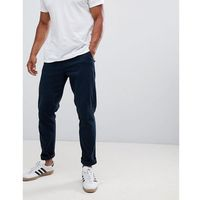 tapered fit chino in navy - navy marki Burton menswear