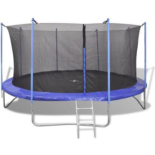 trampolina - 5 części 3,96 m marki Vidaxl