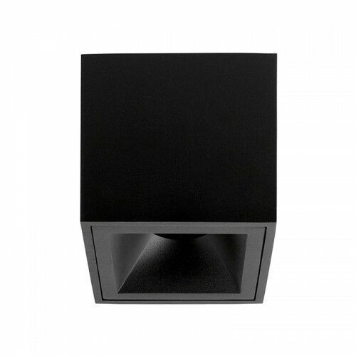 CROSTI PERO SQ TUBE Czarna GU10 wys. 9,5cm. Home&Decor Downlight OXYLED 459161, 459161