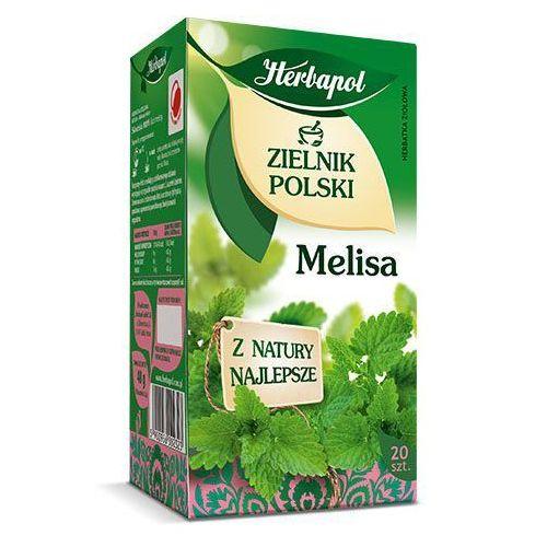 Herbatka ziołowa zielnik polski melisa ex'20 40 g  marki Herbapol