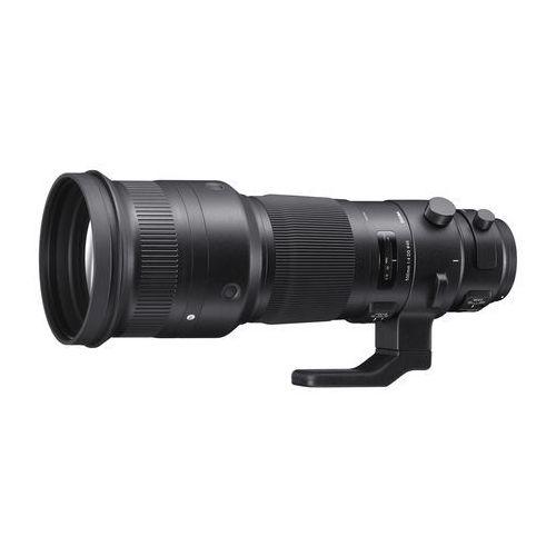 500 mm f4,0 dg os hsm sports (46 mm filter) do szuflad obiektyw canon bagnetowym czarna marki Sigma
