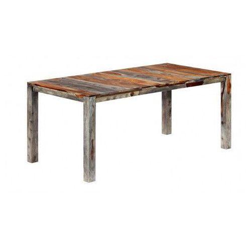 Stół z drewna sheesham Vidal 3X – szary