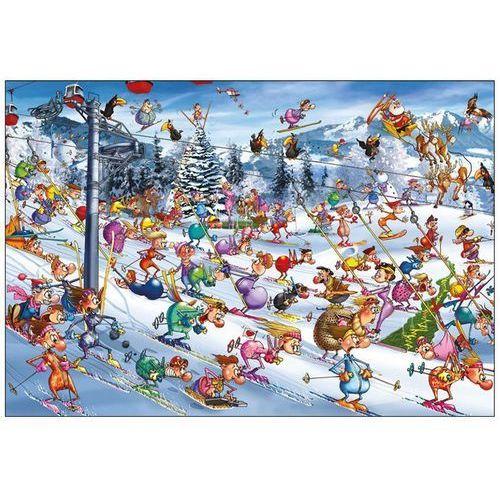 Ruyer, Święta na Stoku - puzzle, 1000 elementów - Piatnik