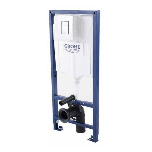 Stelaż podtynkowy WC Grohe Solido 3 w 1 z przyciskiem Even chrom