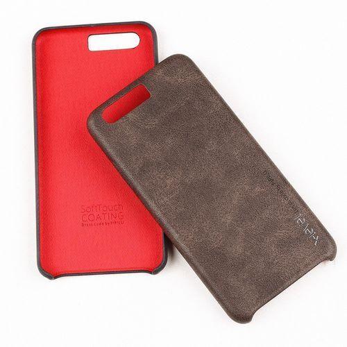 Etui X-Level Vintage Huawei P10 Brown + Szkło, kolor brązowy