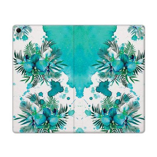 Flex Book Fantastic - Lenovo Tab 3 7.0 (A7-30) - etui na tablet Flex Book Fantastic - turkusowa orchidea, kolor niebieski