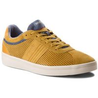 Sneakersy WRANGLER - Micky City WF16602U8 Honey Gold 110, kolor żółty