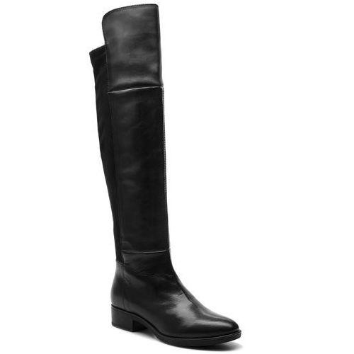 Muszkieterki GEOX - D Felicity G D84G1G 085JZ C9999 Black, kolor czarny