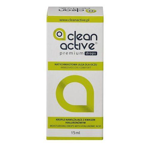 Clean Active Premium Drops 15 ml - produkt z kategorii- Krople do oczu