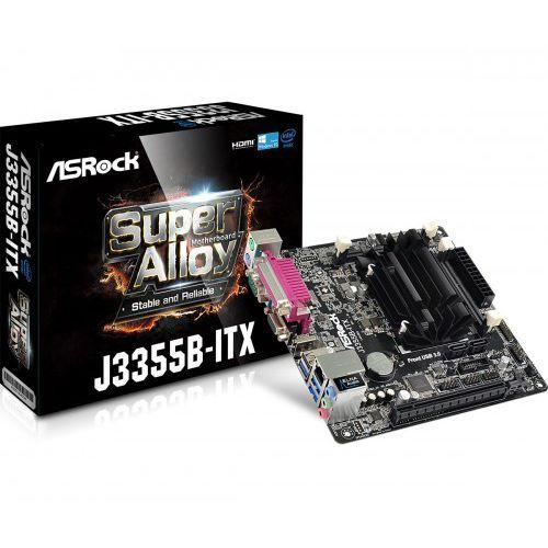 Płyta główna ASRock J3355B-ITX J3355B 2DDR3 USB3 HDMI/D-Sub mini ITX - J3355B-ITX - J3355B-ITX Darmowy odbiór w 20 miastach!