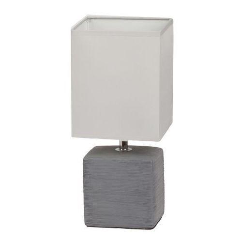 Lampa stołowa lampka orlando 1x40w e14 szara 4458 marki Rabalux